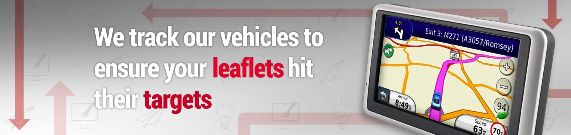 Vehicle Tracking Ensure Leaflets Hit Targets